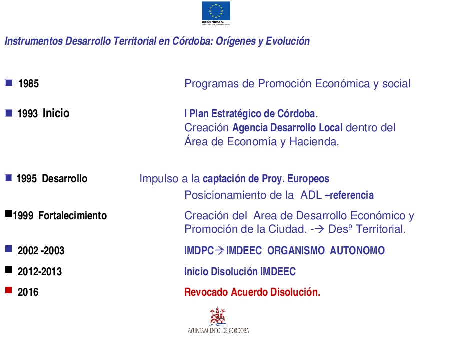 O caso de Córdoba